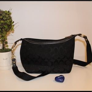 Black Coach Bag. Great size and gently used!